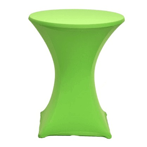 Statafelrok Lime groen stretch excl.statafel