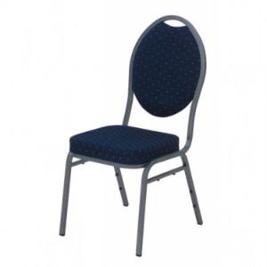 Conferentie stoel blauw